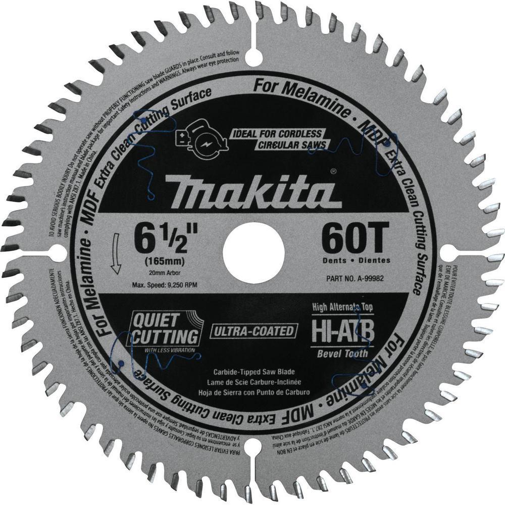 Laminate circular saw blades saw blades the home depot 60t atb carbide tipped cordless plunge saw greentooth Choice Image