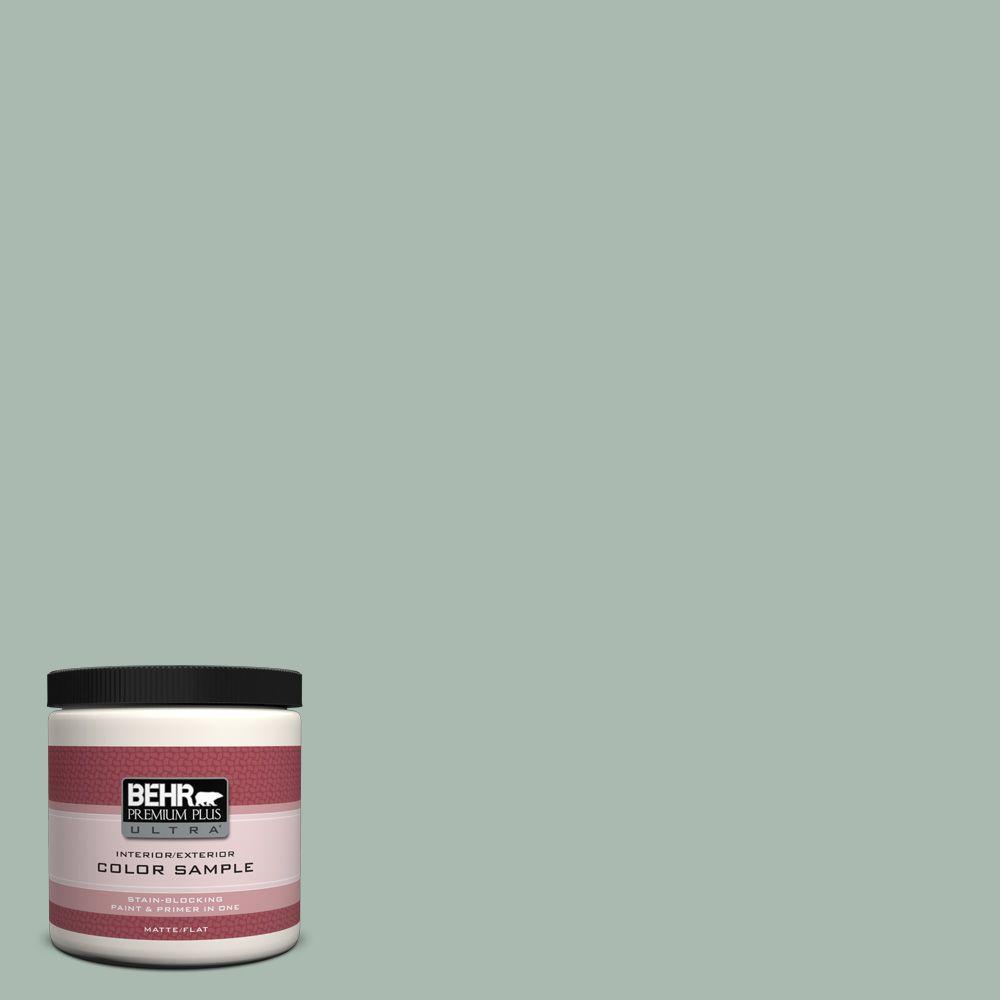 8 oz. #PPU11-14 Zen Matte Interior/Exterior Paint and Primer in One