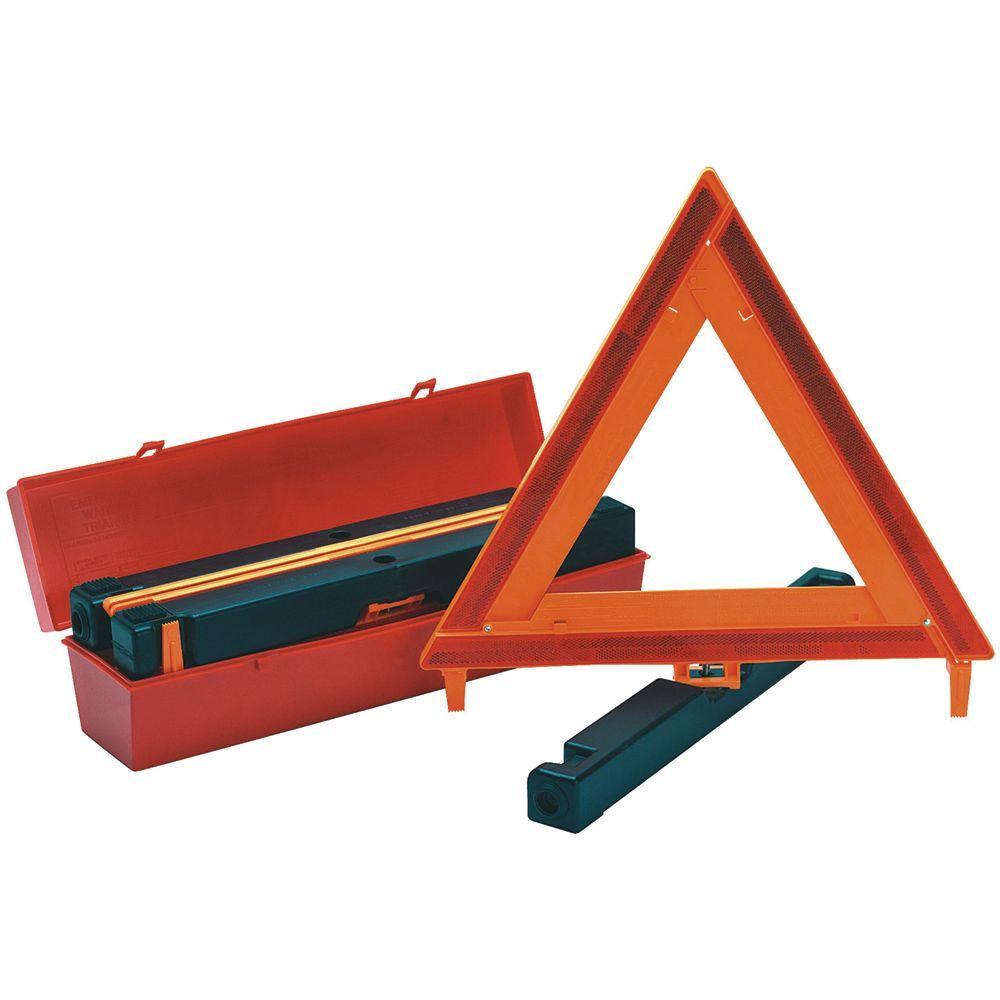 Safety Flag Highway Triangle Warning Kit