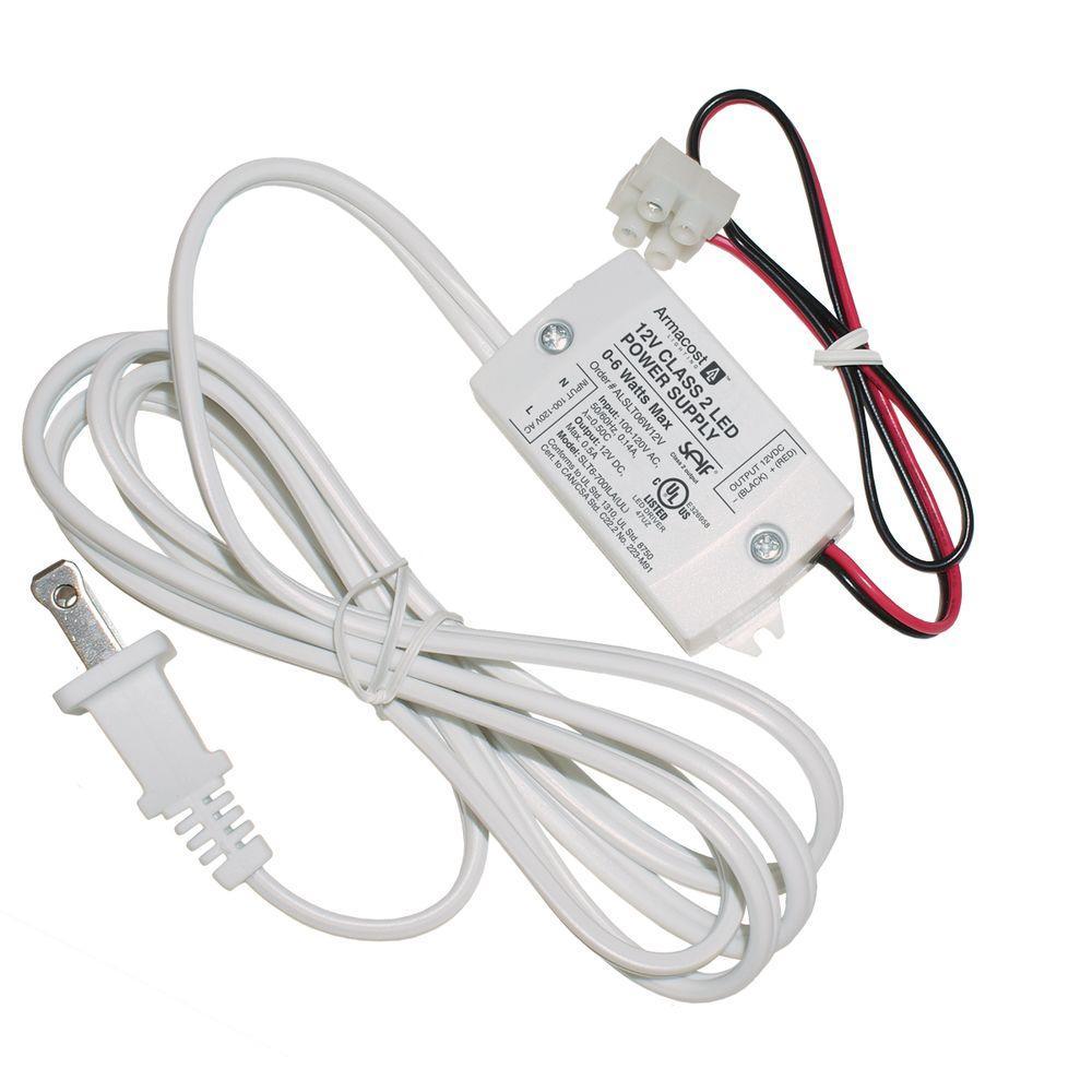 Armacost Lighting 6-Watt 12-Volt White LED Power Supply