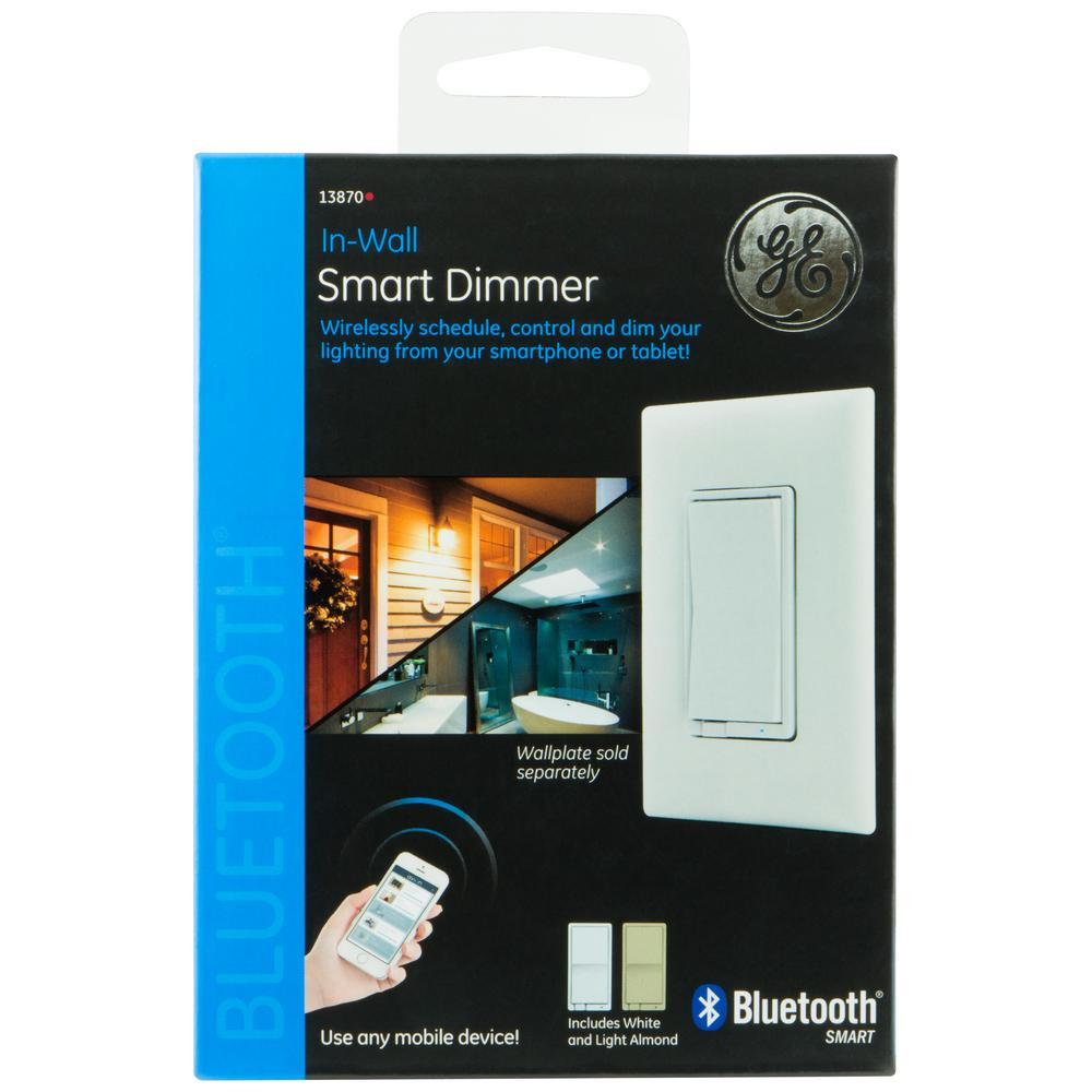 Ge Bluetooth In Wall Smart Dimmer