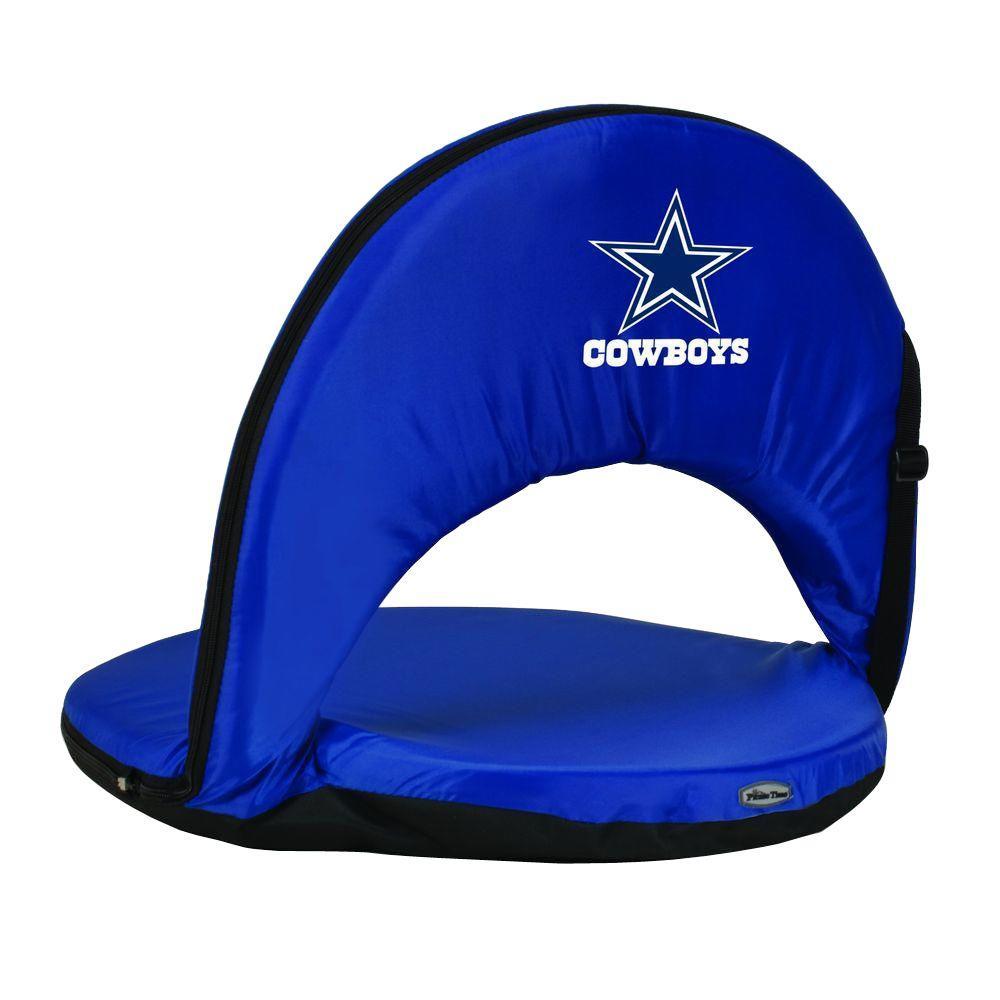 Oniva Dallas Cowboys Navy Patio Sports Chair with Digital Logo
