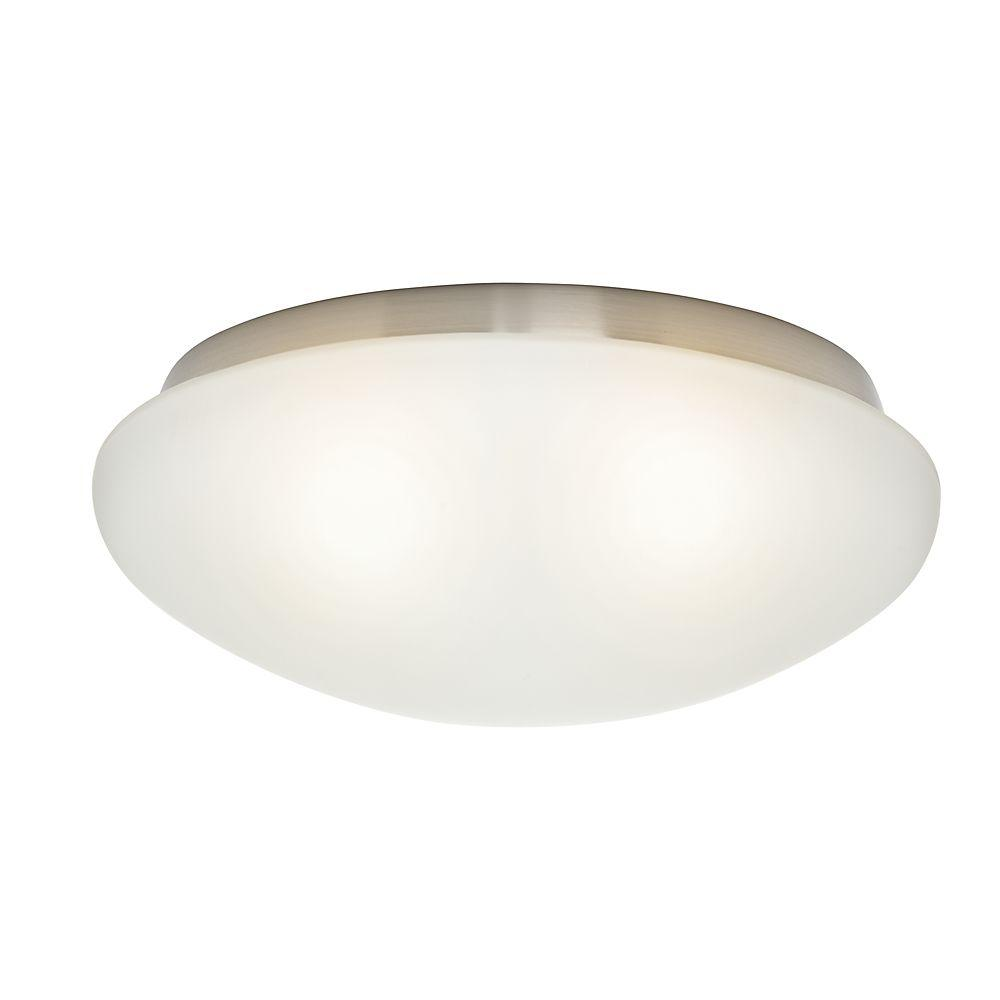 Cased White Standard Globe for Low-Profile Fitters