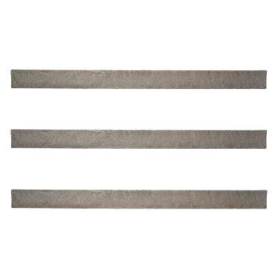 Stacked Stone 3.5 in. x 48 in. Kenai Faux Trim (3-Pack)