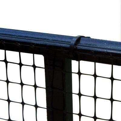 15 ft. Roll Child Safety Outdoor Deck Netting for Safety Black