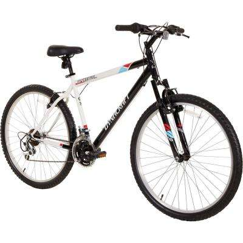 26 in. Alpine Eagle Mountain Bike in Black and White