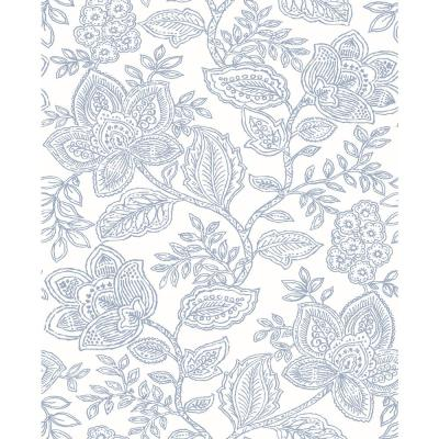 Larkin Lavender Floral Wallpaper