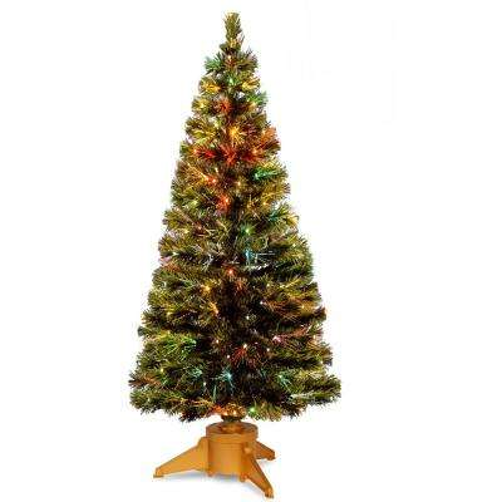 6 ft. Fiber Optic Radiance Fireworks Artificial Christmas Tree
