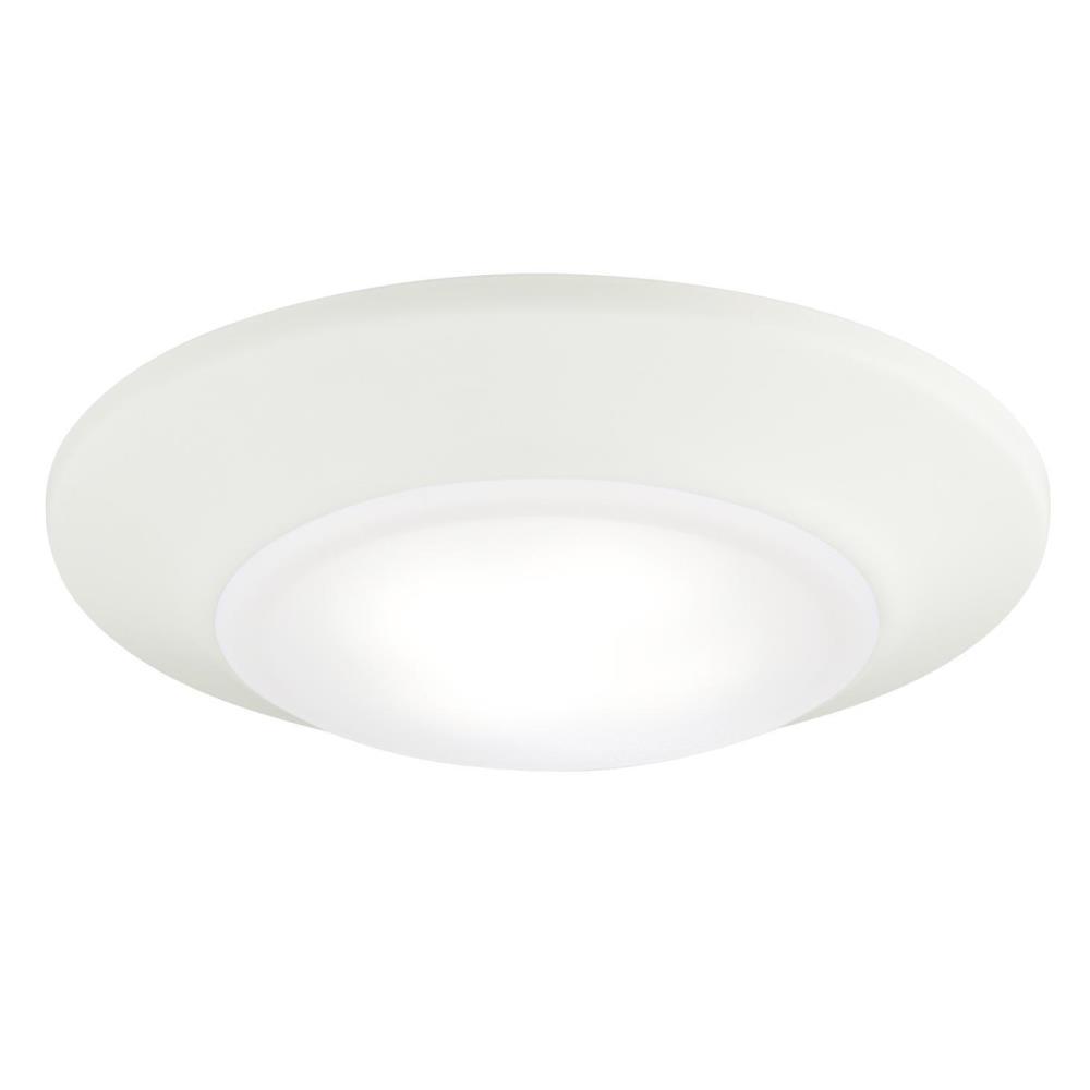60-Watt 6 in. White 5000K Indoor/Outdoor Integrated ENERGY STAR Dimmable LED Flush Mount