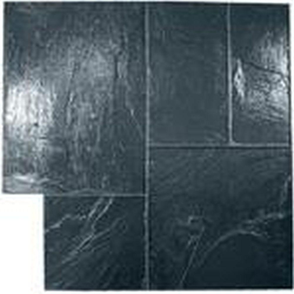Marshalltown Majetic Ashlar Flex Black Concrete Stamp Mablackf