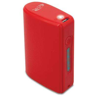 5200 mAh Portable Charger, Red