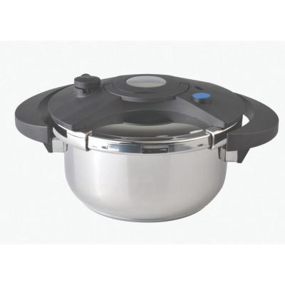 Eclipse 8.5 in. 4.2 qt. 18/10 Stainless Steel Stove Top Pressure Cooker