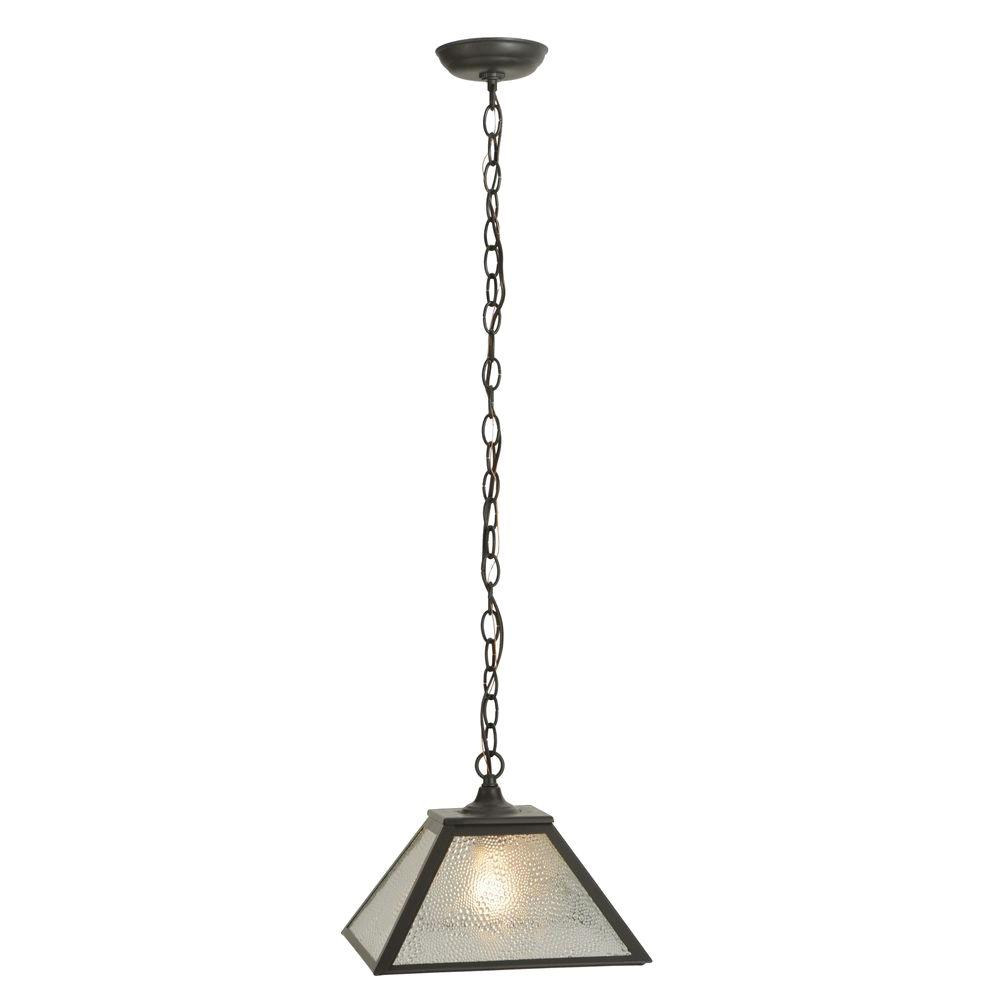 Illumine 1 Light Pendant Timeless Bronze Finish