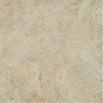 Majestic Ghibli Beige Granite 18 in. x 18 in. Vinyl Floor Tiles (22.5 sq. ft./case)