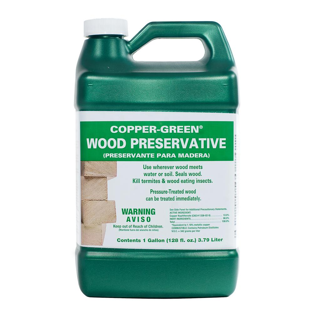 Admirable Copper Green 1 Gal Wood Preservative Caraccident5 Cool Chair Designs And Ideas Caraccident5Info