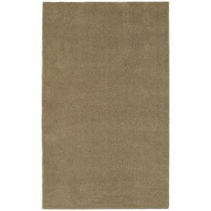 Washable Room Size Bathroom Carpet Taupe 5 Ft. X 6 Ft. Area Rug