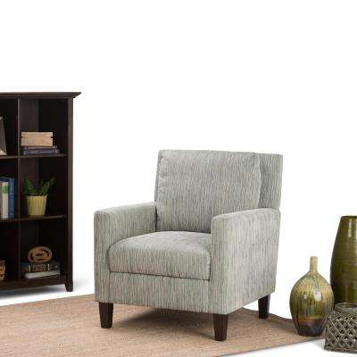Jakob Pale Green Fabric Club Arm Chair
