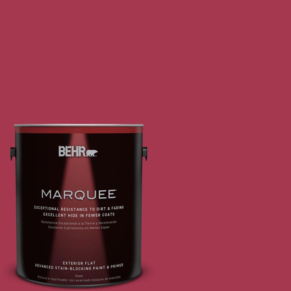 BEHR MARQUEE 1-gal. #S-G-120 Strawberry Daiquiri Flat Exterior Paint