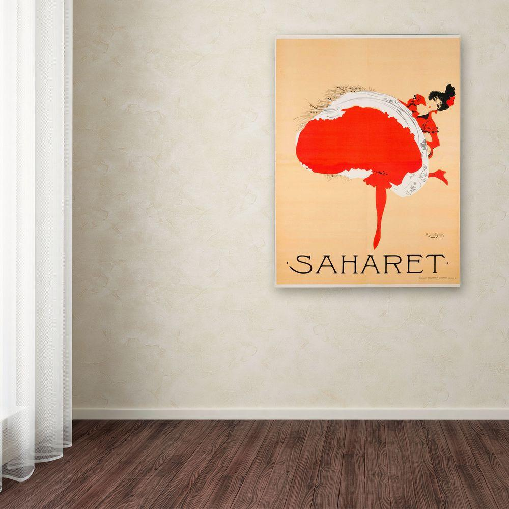 19 in. x 14 in. Saharet Canvas Art