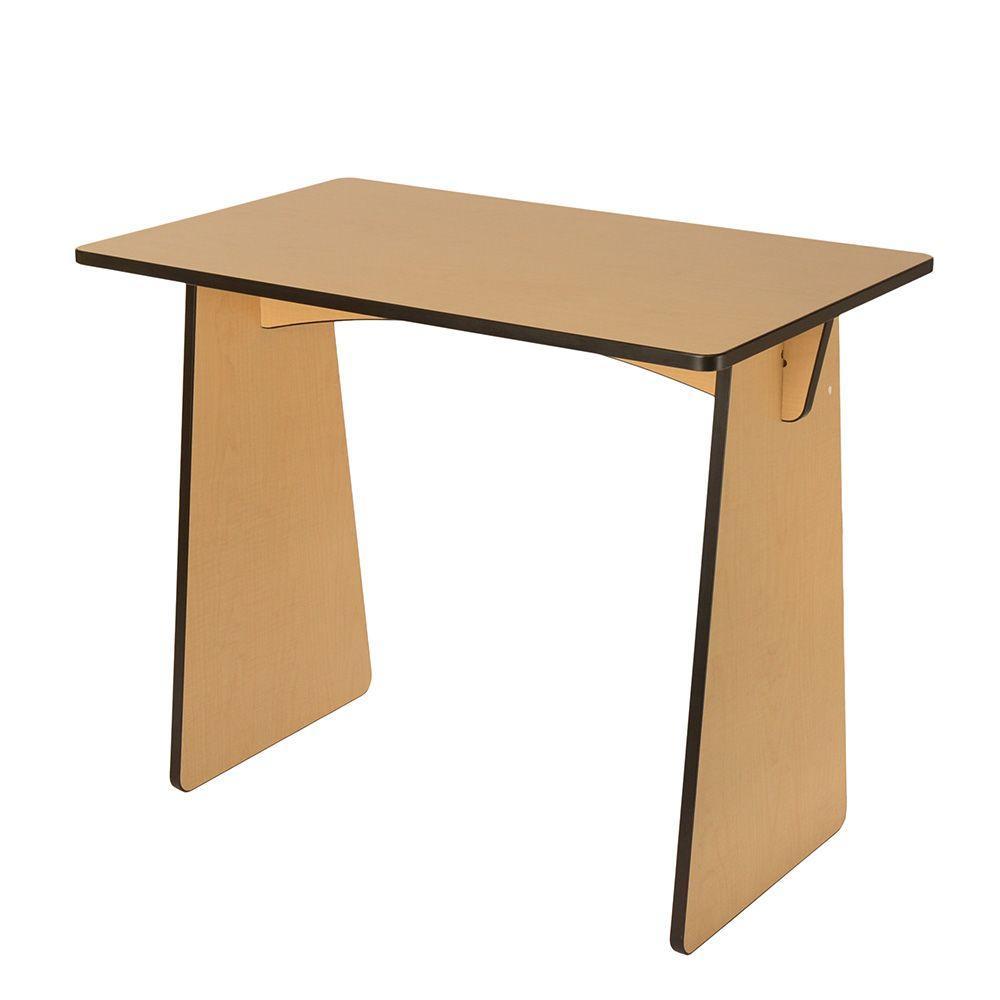 Belknap Hill Trading Post Maple Laminated Knock Down Desk