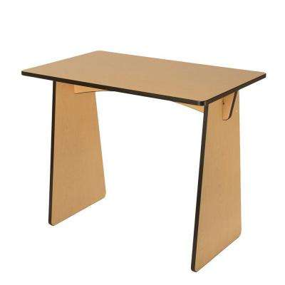 Maple Laminated Knock Down Desk
