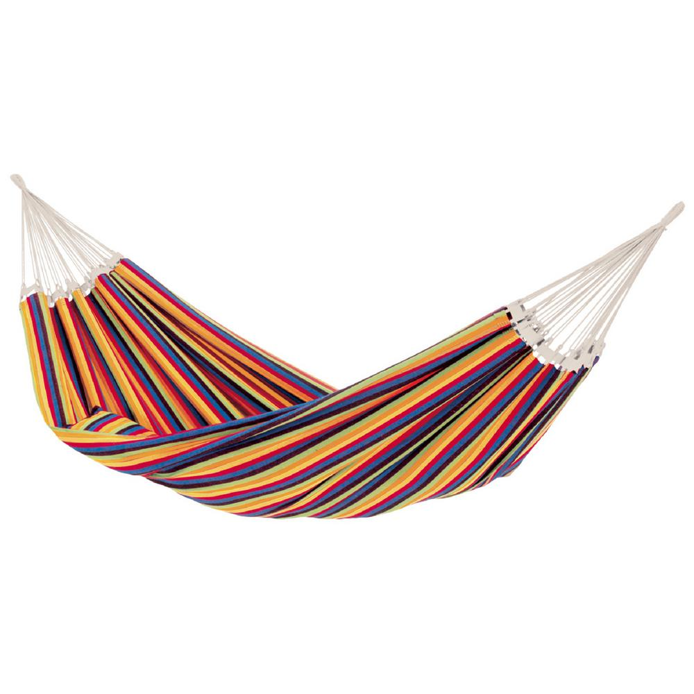 BYER of Maine 12 ft. Cotton/Poly Brazilian Hammock, Tropical