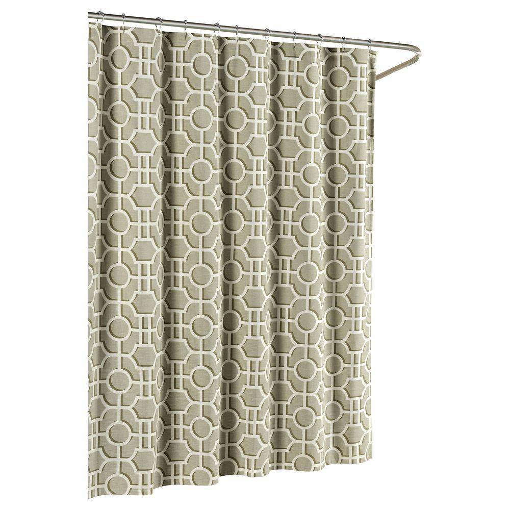 Lenox Cotton Luxury 72 in. W x 72 in. L Shower
