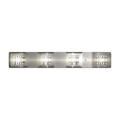 Metropolitan 4-Light Chrome Vanity Light