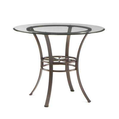 Leister Dark Brown Dining Table