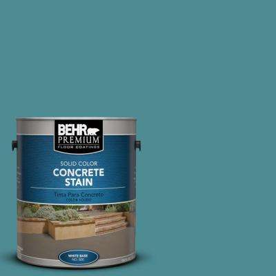 1 gal. #PFC-49 Heritage Teal Solid Color Interior/Exterior Concrete Stain