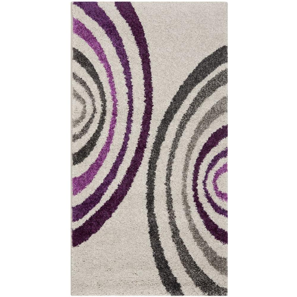 Porcello Creme 2 ft. x 3 ft. 7 in. Area Rug