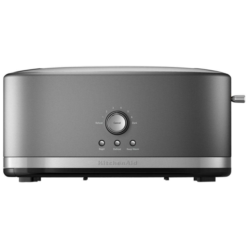 4-Slice Contour Silver Toaster