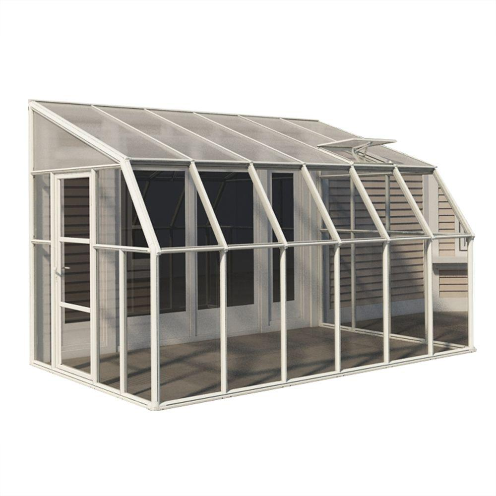 Sun Room 8 ft. x 12 ft. Clear Greenhouse