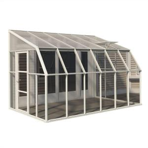 Rion Sun Room 8 ft. x 12 ft. Clear Greenhouse by Rion