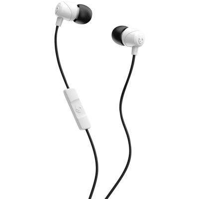 Jib In-Ear Earbuds with Microphone in White