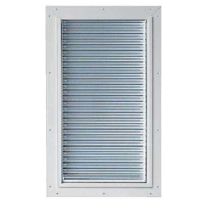 6.38 in. x 13.5 in. Weather and Energy Efficient Pet Door with Magnetic Closure for Doors and Walls