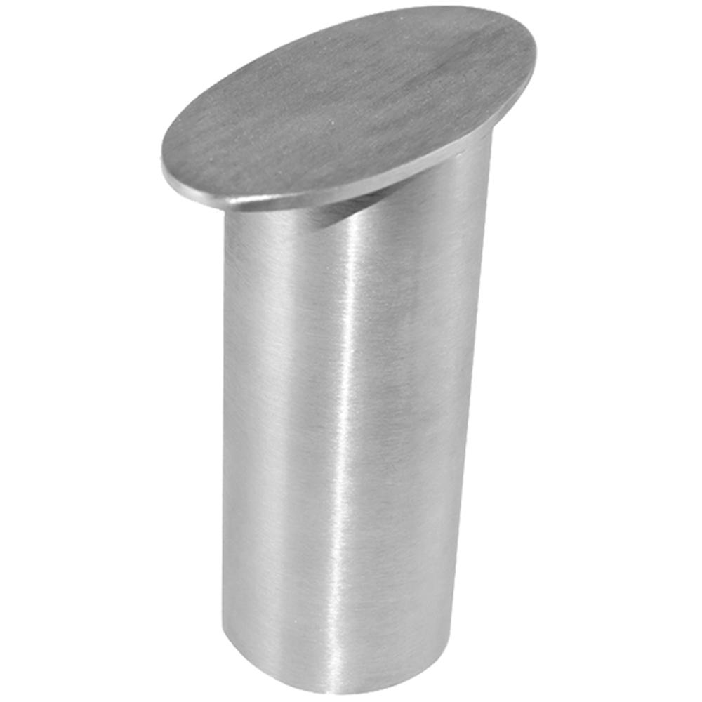 Dilworth 4 in. x 5 in. Stainless Steel Countertop Standoff Post