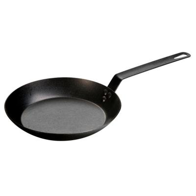 10 in. Carbon Steel Skillet in Black