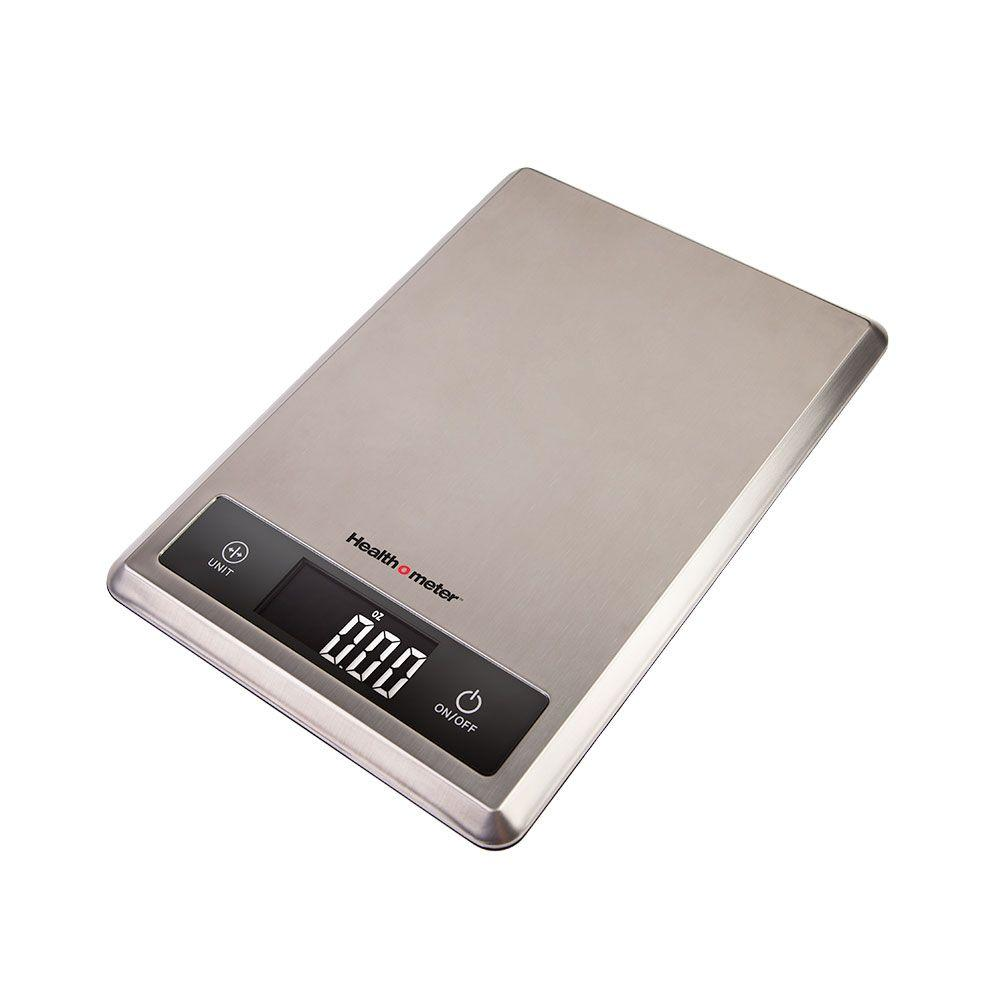 Escali Health o Meter Multipurpose Kitchen Food Scale in Stainless