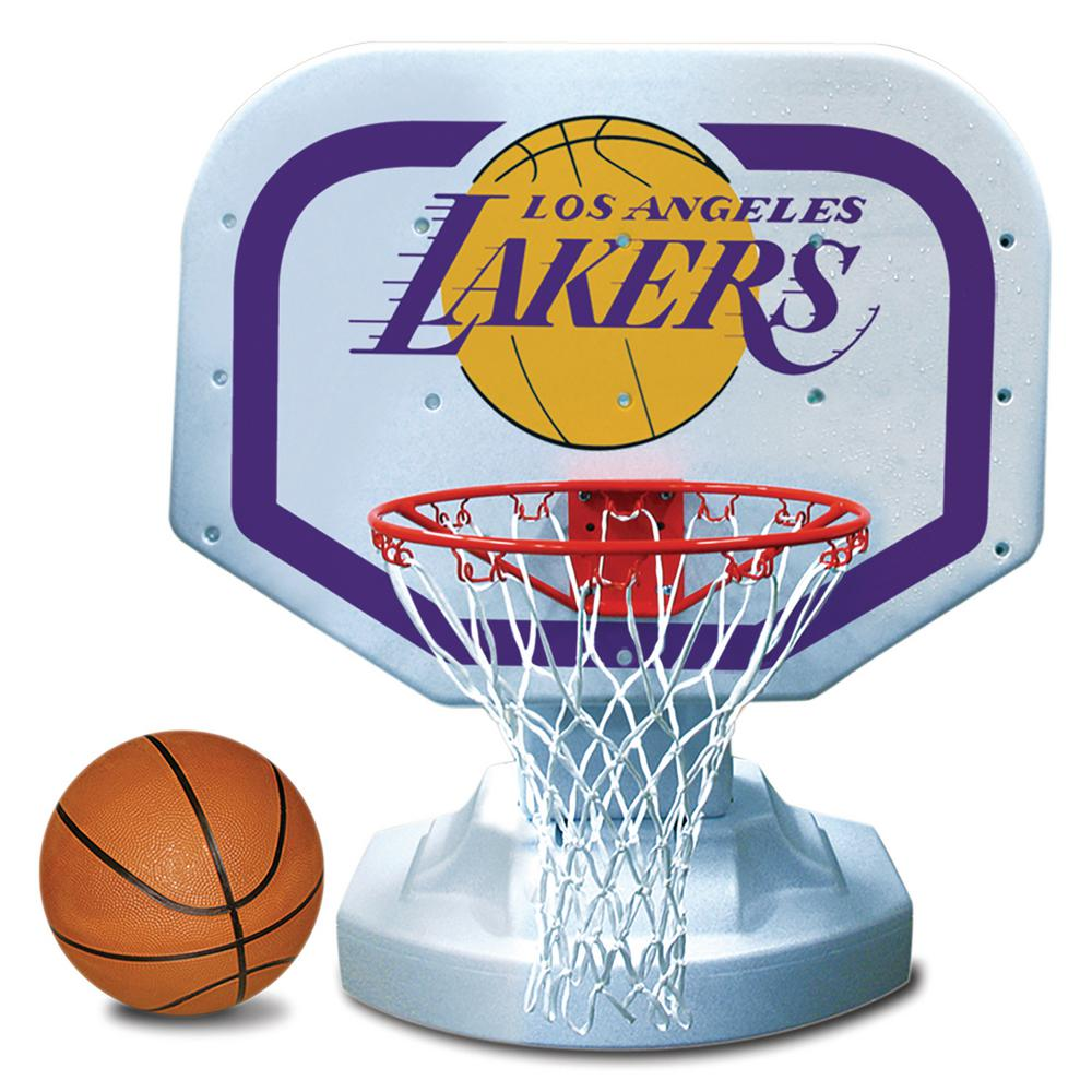 Los Angeles Lakers NBA Competition Swimming Pool Basketball Game