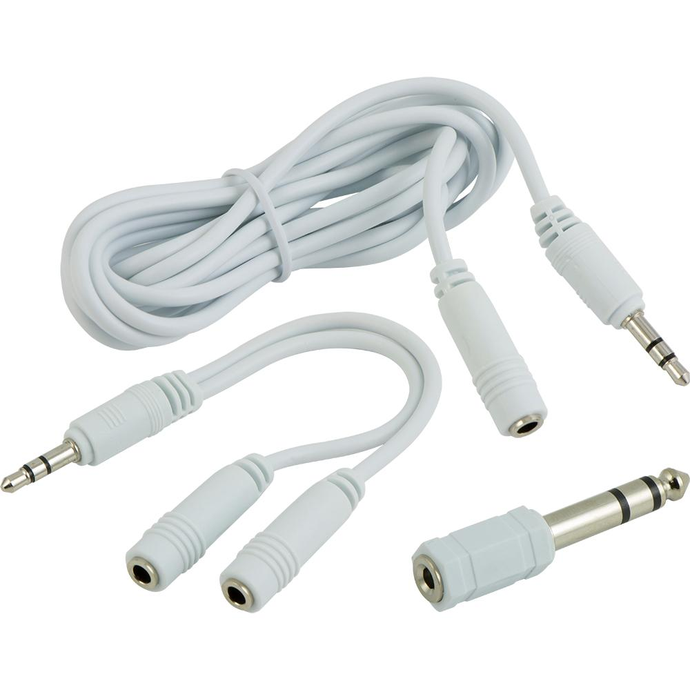 6 ft. Headphone Adapter Kit and Extension Cable with Asst. Adapters
