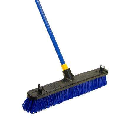 Bulldozer 24 in. Super Stiff Poly Push Broom