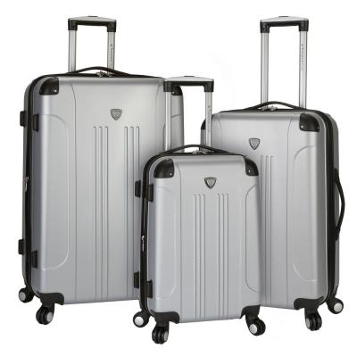 3-Piece Hardside Vertical Rolling Luggage Set with Spinners