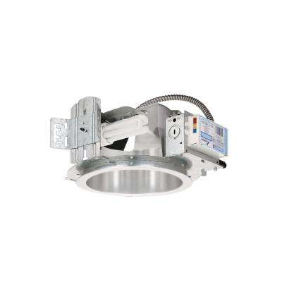 8 in. Silver Non-IC New Construction Recessed Housing