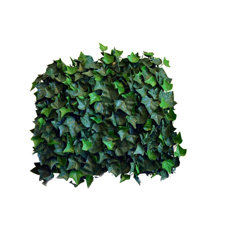 20 in. x 20 in. Artificial Ivy Wall Panels (Set of