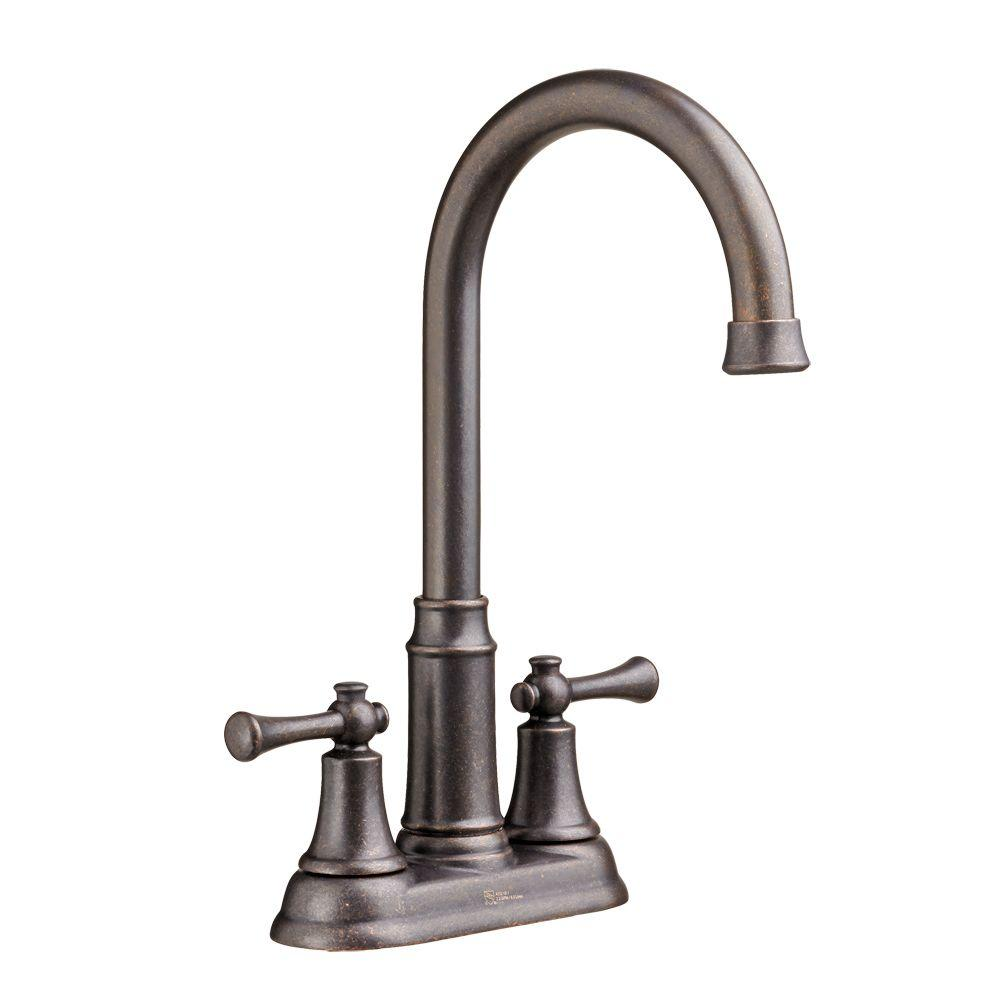 Portsmouth 2 Handle Bar Faucet In Oil Rubbed Bronze