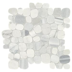 Daltile Stone Decor Shadow 12 In X 12 In X 10 Mm Marble
