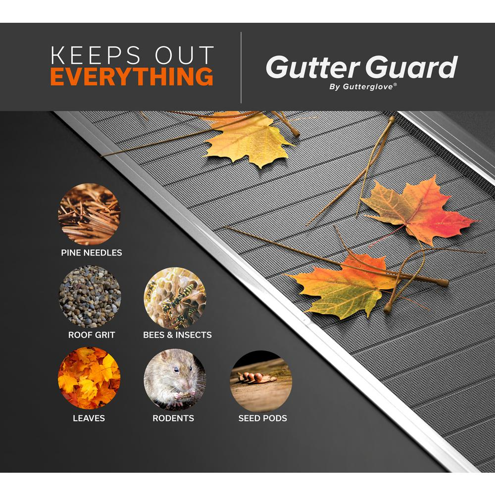 Gutter Guard 3 Ft 5 In Micro Mesh Wire Stainless Steel