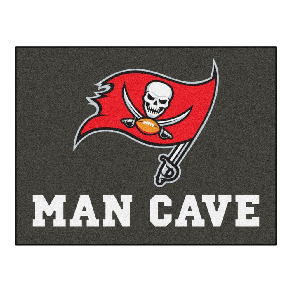c371f533 FANMATS Tampa Bay Buccaneers Red Man Cave 3 ft. x 4 ft. Area Rug