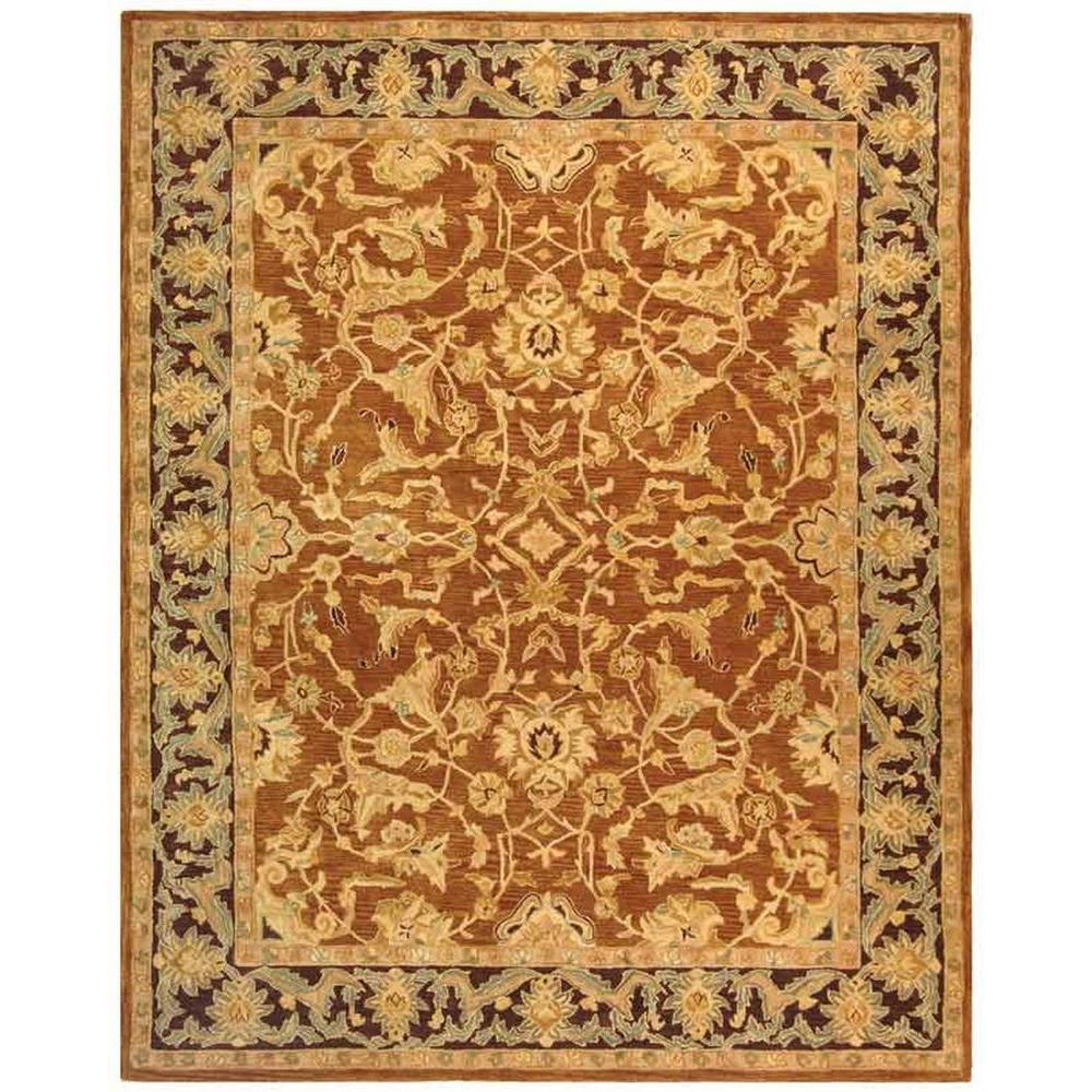 Safavieh Anatolia Brown/Plum 8 ft. x 10 ft. Area Rug